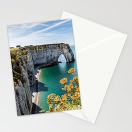Cliffs of Étretat Stationery Cards