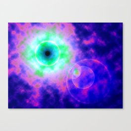 Space Eye Canvas Print
