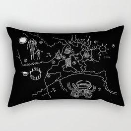 Map of the Black Lodge Rectangular Pillow