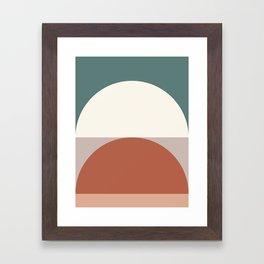 Abstract Geometric 01D Framed Art Print