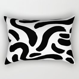 Brushstrokes 01 Rectangular Pillow