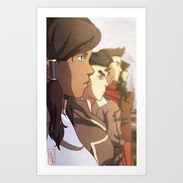 The Legend of Korra Art Print