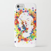 marylin monroe iPhone & iPod Cases featuring Marylin Monroe by Psyca