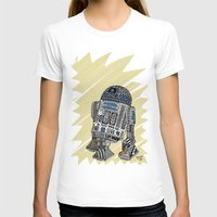 r2d2 T-shirts featuring R2D2 by Rebecca Bear