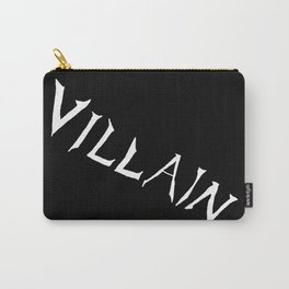 Villain in Black Carry-All Pouch