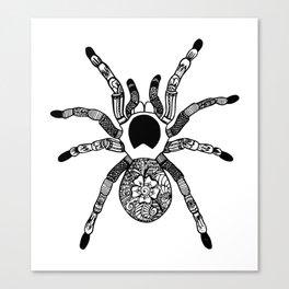 Henna Spider Canvas Print