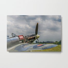 Covers Off Hawker Hurricane Metal Print