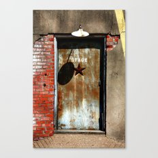 Your Future is Waiting... Just Open the Door. Canvas Print