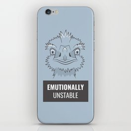 Emutionally Unstable iPhone Skin