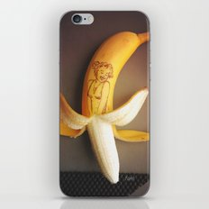 Marilyn Banana iPhone & iPod Skin