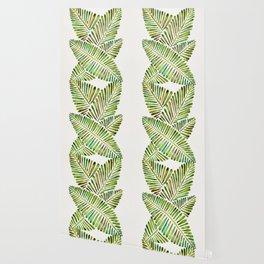 Tropical Banana Leaves – Green Palette Wallpaper
