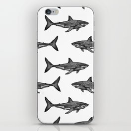 Carcharodon carcharias 2.0 iPhone Skin