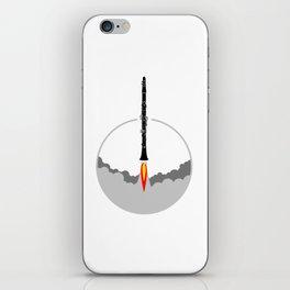 Clarinet Rocket iPhone Skin