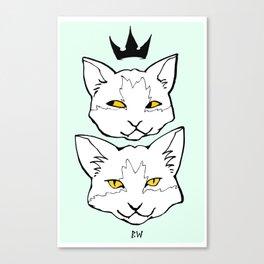 """Meow """"Color"""" Canvas Print"""