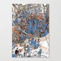 EUROPEAN JOURNAL #2 Canvas Print