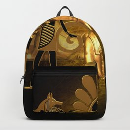 Anubis, the egyptian god Backpack
