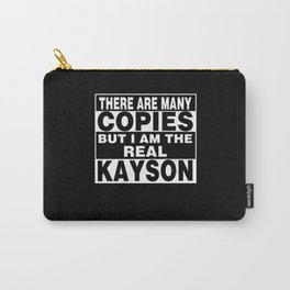 I Am Kayson Funny Personal Personalized Fun Carry-All Pouch