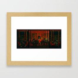Saturday Night [extended] Framed Art Print