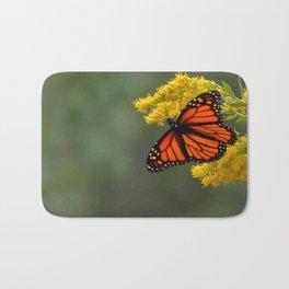 Autumn Monarch by Teresa Thompson Bath Mat
