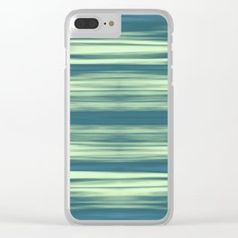 Abstraction Serenity in Afternoon at Sea Clear iPhone Case