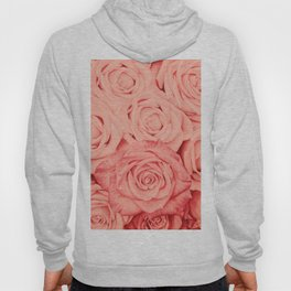 Some People Grumble - Living Coral Roses Hoody