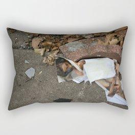 Bodyparts and paperwork Rectangular Pillow