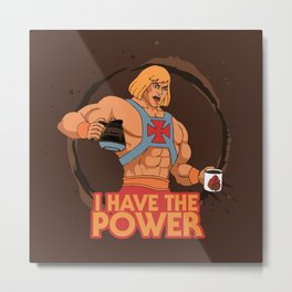 Master of the Brewniverse Metal Print