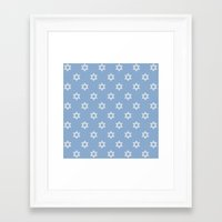 israel Framed Art Prints featuring Israel Love by Lilach Oren