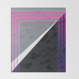 London - pink graphic Throw Blanket