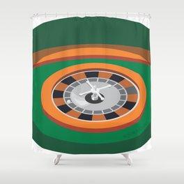 orange 36 Shower Curtain