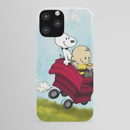 Charvin and Snoobes iPhone Case