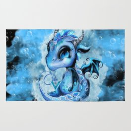 Lil DragonZ - Elements Series - Water Rug