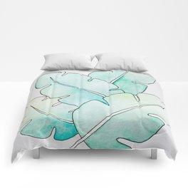 Tropical Watercolors Comforters