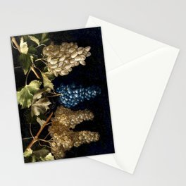 Grape Vines : Vintage Painting Stationery Cards