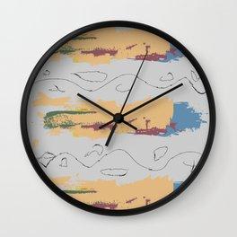 Scribbly Wall Clock