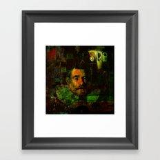 Image of past Framed Art Print