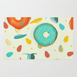 SOUP TO DONUTS Rug