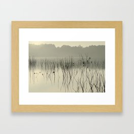 """""""Calm early morning"""" Framed Art Print"""