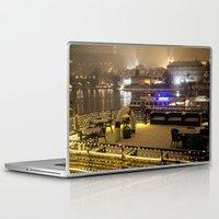 prague Laptop & iPad Skins featuring Prague 4 by Veronika