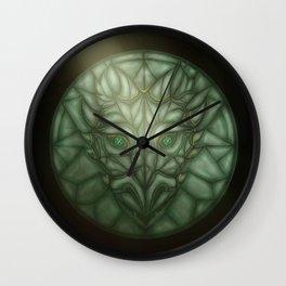 Keystone of the Vault Wall Clock