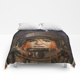 Give me Space (Girl) Comforters