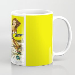 50 Foot Woman Attacks Coffee Mug