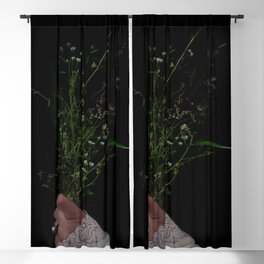 I Brought You Wildflowers But All You Saw Were Weeds Blackout Curtain