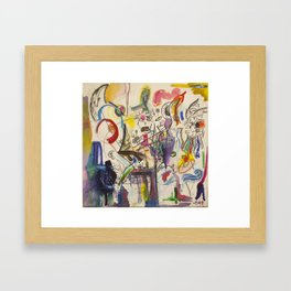 Mythos Flabbergasted Framed Art Print