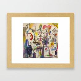 Mythos Flabbergasted Framed Art Print