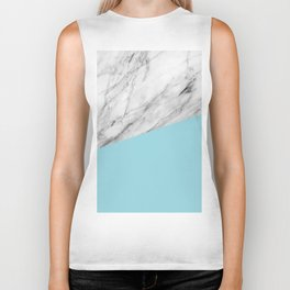 Marble and Island Paradise Color Biker Tank
