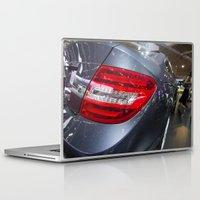 mercedes Laptop & iPad Skins featuring Mercedes-Benz C 180 Coupé Sport by Mauricio Santana