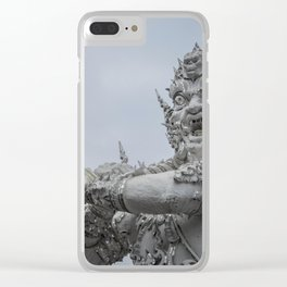 The White Temple - Thailand - 011 Clear iPhone Case