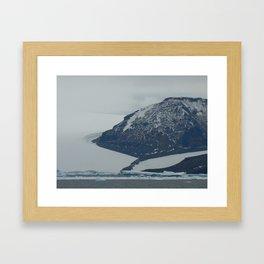 Glaciers, Antarctica 2006 Framed Art Print