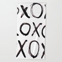 xo  Beach Towel
